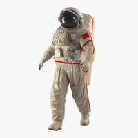 3d chinese space suit haiying