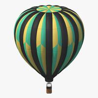 hot air balloon 3d max