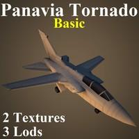 panavia tornado basic 3d model