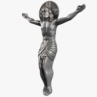 jesus crucifixion crucifix 3d max