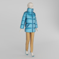 clothes mannequin shops 3d max