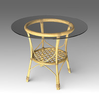 rotang table furniture 3d x