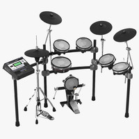 Electronic Drum Kit Roland 2 3D Model