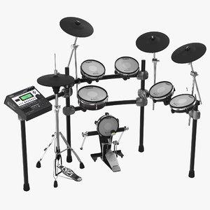 3d electronic drum kit roland