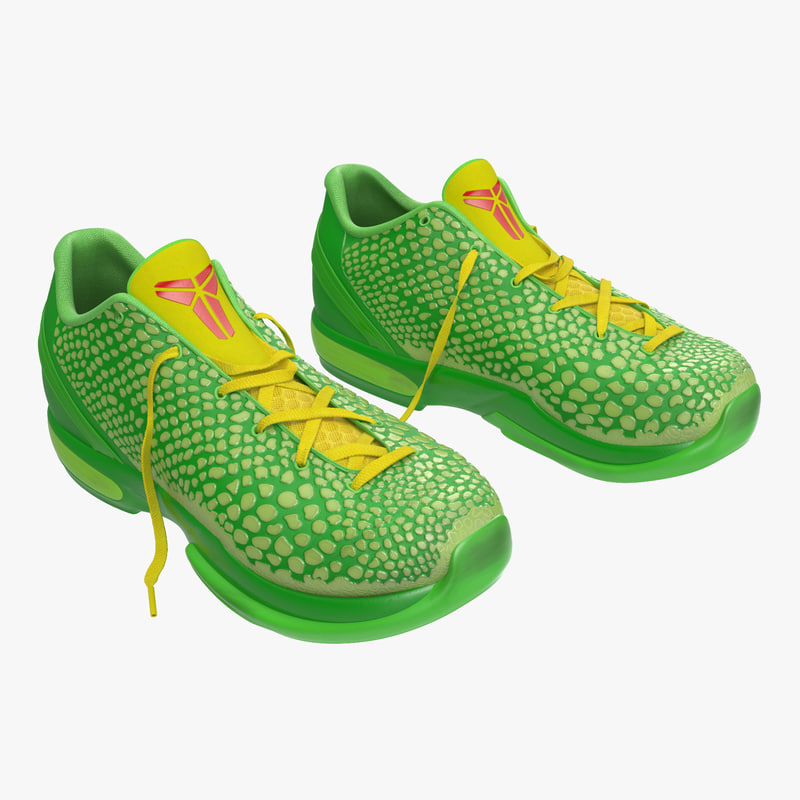 3d model of sneakers generic