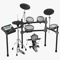 V Stage Electronic Drum Kit Roland TD 12KXS 3D Model