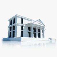 bank building symbol max