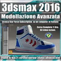3ds max 2016 Modellazione Avanzata 1- 2 Subscription