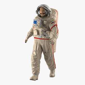 max russian astronaut wearing space suit