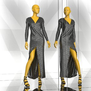 mannequin clothes 3d model