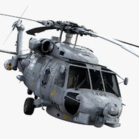 sikorsky sh-60b seahawk 3d model
