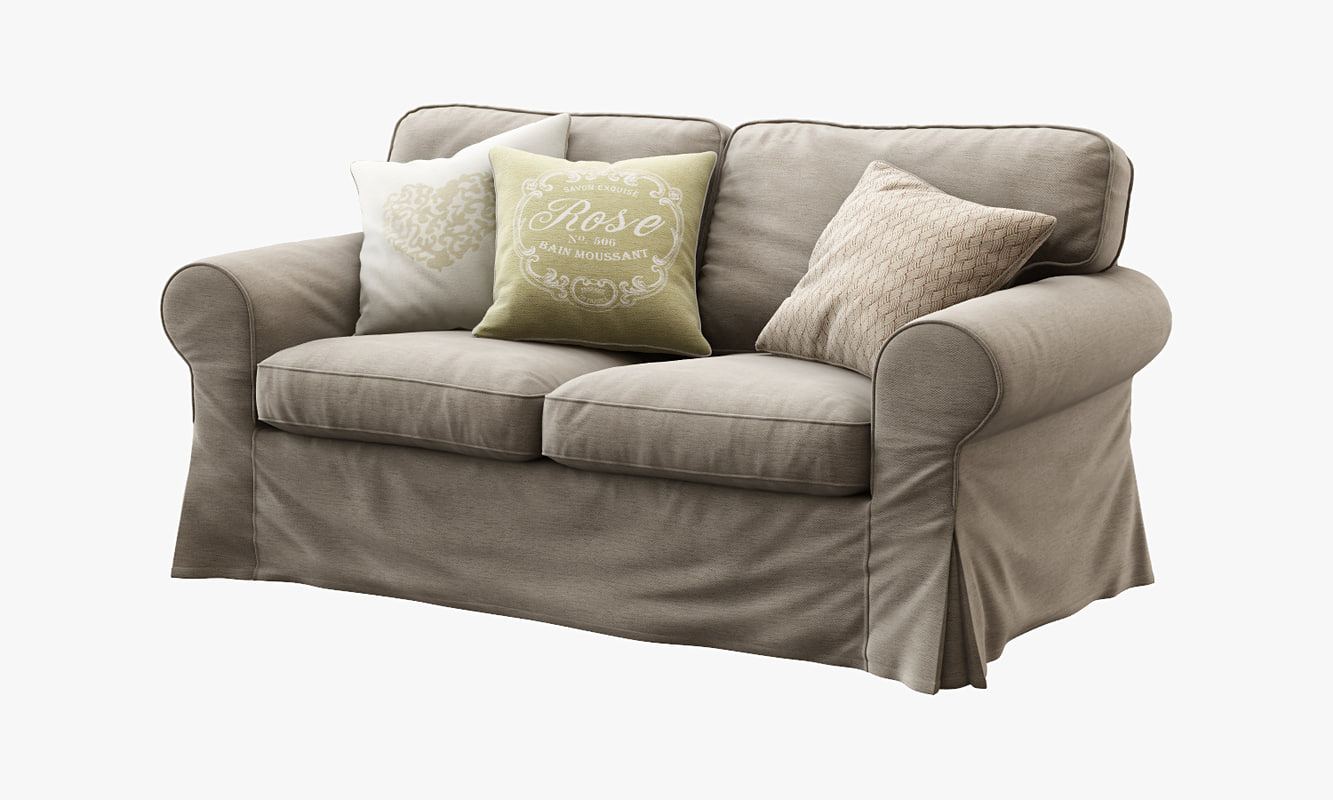3d model of ikea ektorp loveseat