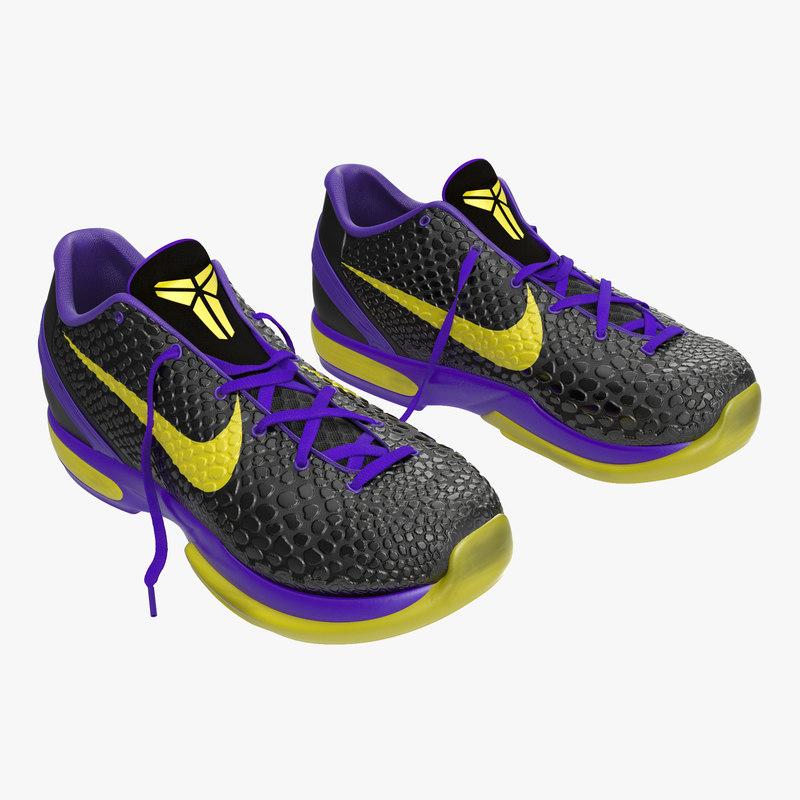 sneakers nike zoom black 3d max