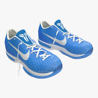 Sneakers Nike Zoom Blue 3D Model