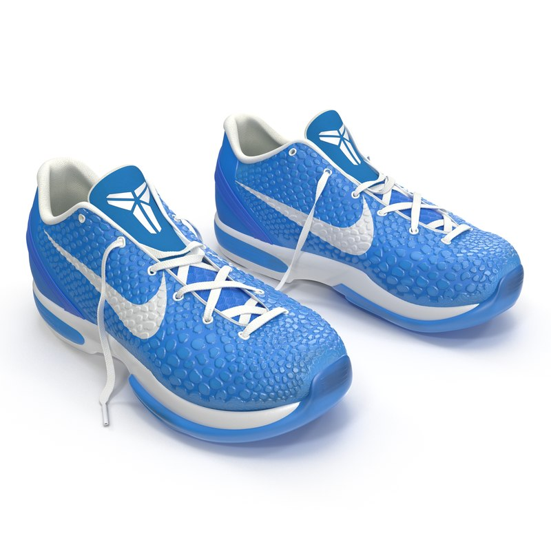 3d sneakers nike zoom blue