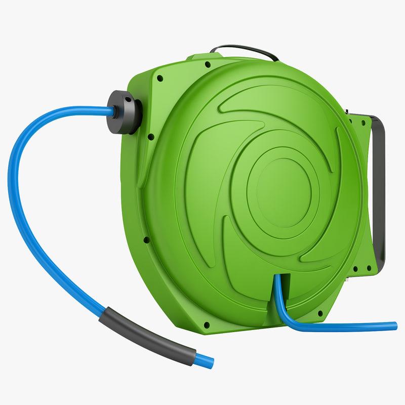 hose reel 3d model