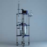 3d chemical glass reactor