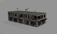 city building - arab 3d model