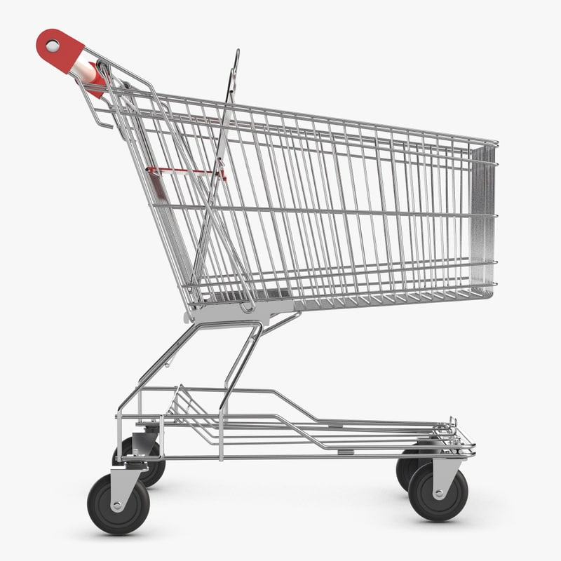 3ds max shopping cart 2