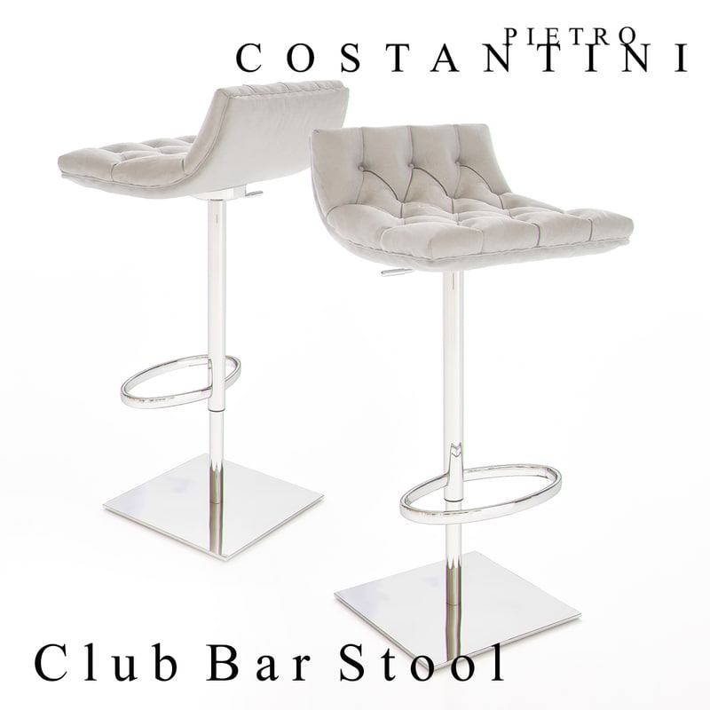 constantini pietro club bar stool max