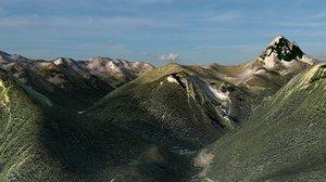 pyrenees mountain landscape max
