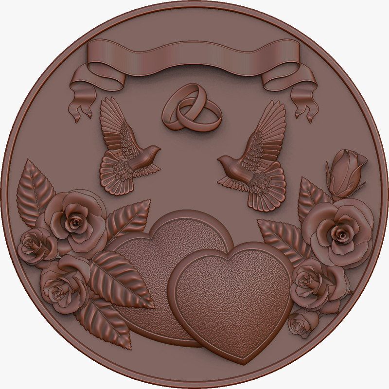 3ds max medal wedding