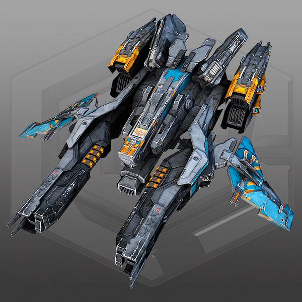ma scifi fighter x2