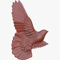 Dove relief for CNC