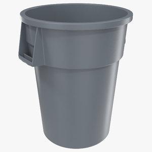 3d model plastic garbage generic