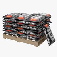 3d pallet cement bags