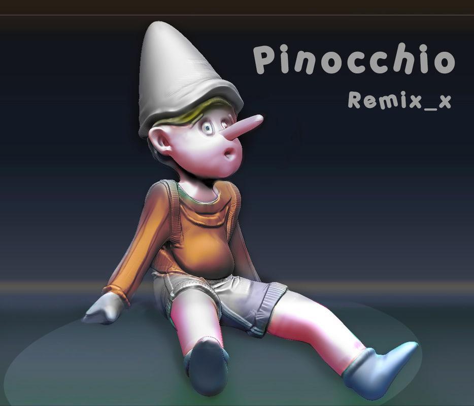 3ds pinocchio