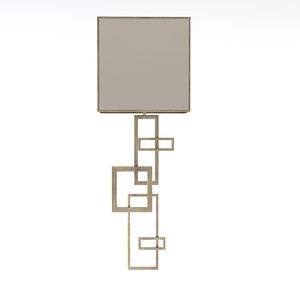 fine lamps 545130 3d model
