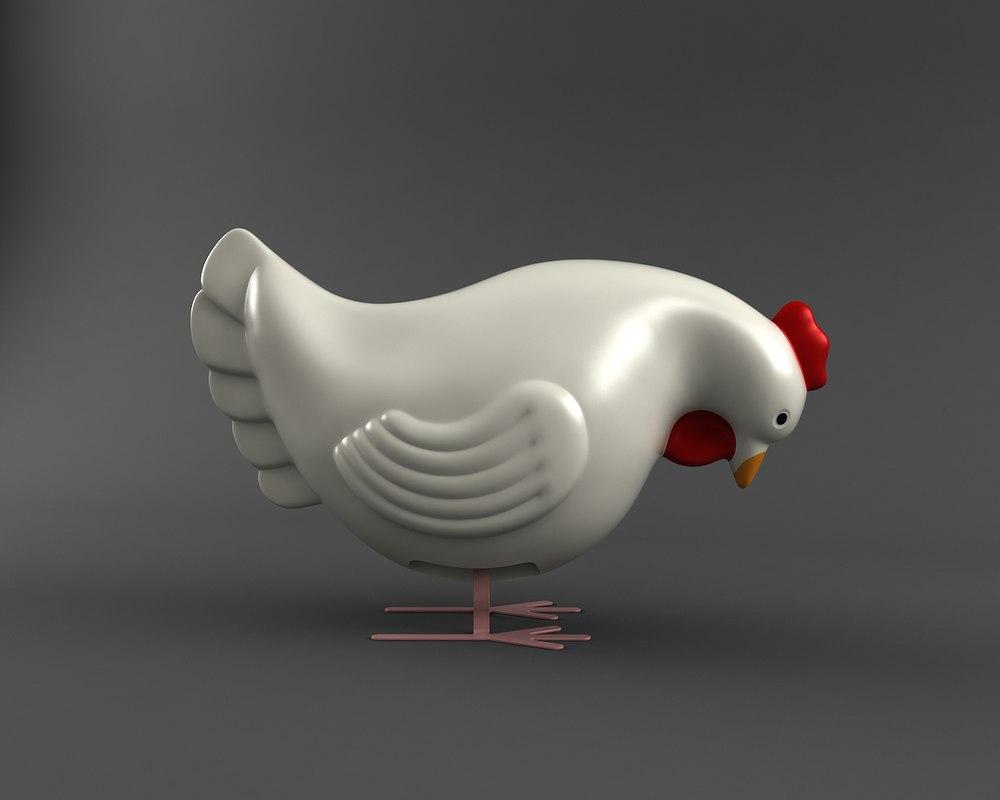 max chicken clockwork toy