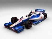 3d open indycar cars model
