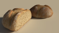 3ds max bread