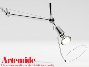 3d suspension diffusore anello