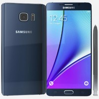 3d samsung galaxy note 5 model