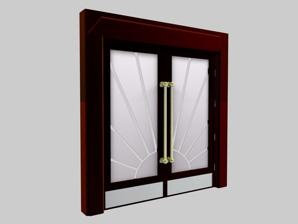 cinema4d art deco door grosvenor