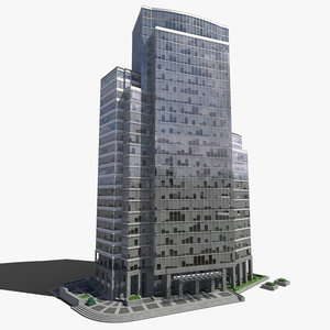 3d max office building