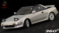 3d toyota mr2 1989 model