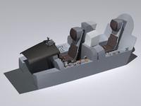 Tornado ADV cockpit.