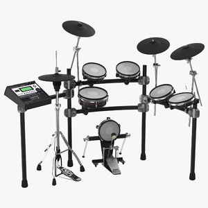 obj electronic drum kit generic