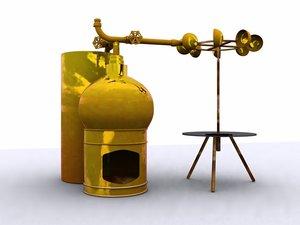 roasting steam turnspit 3ds