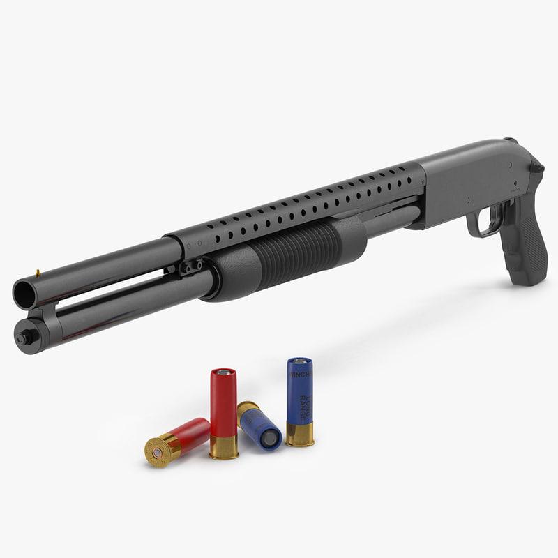 shotgun shells 3d max
