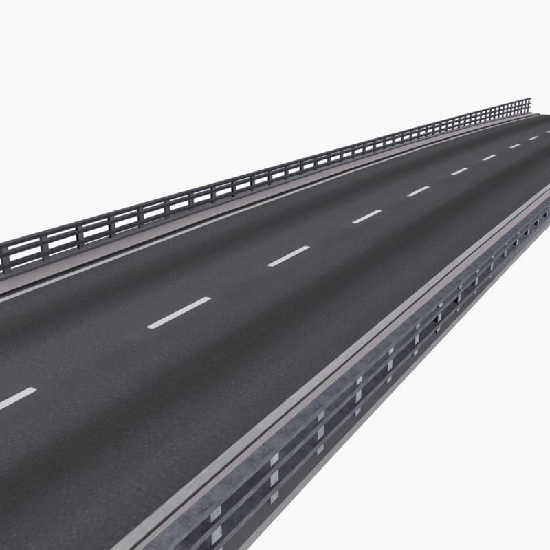 3d max highway street