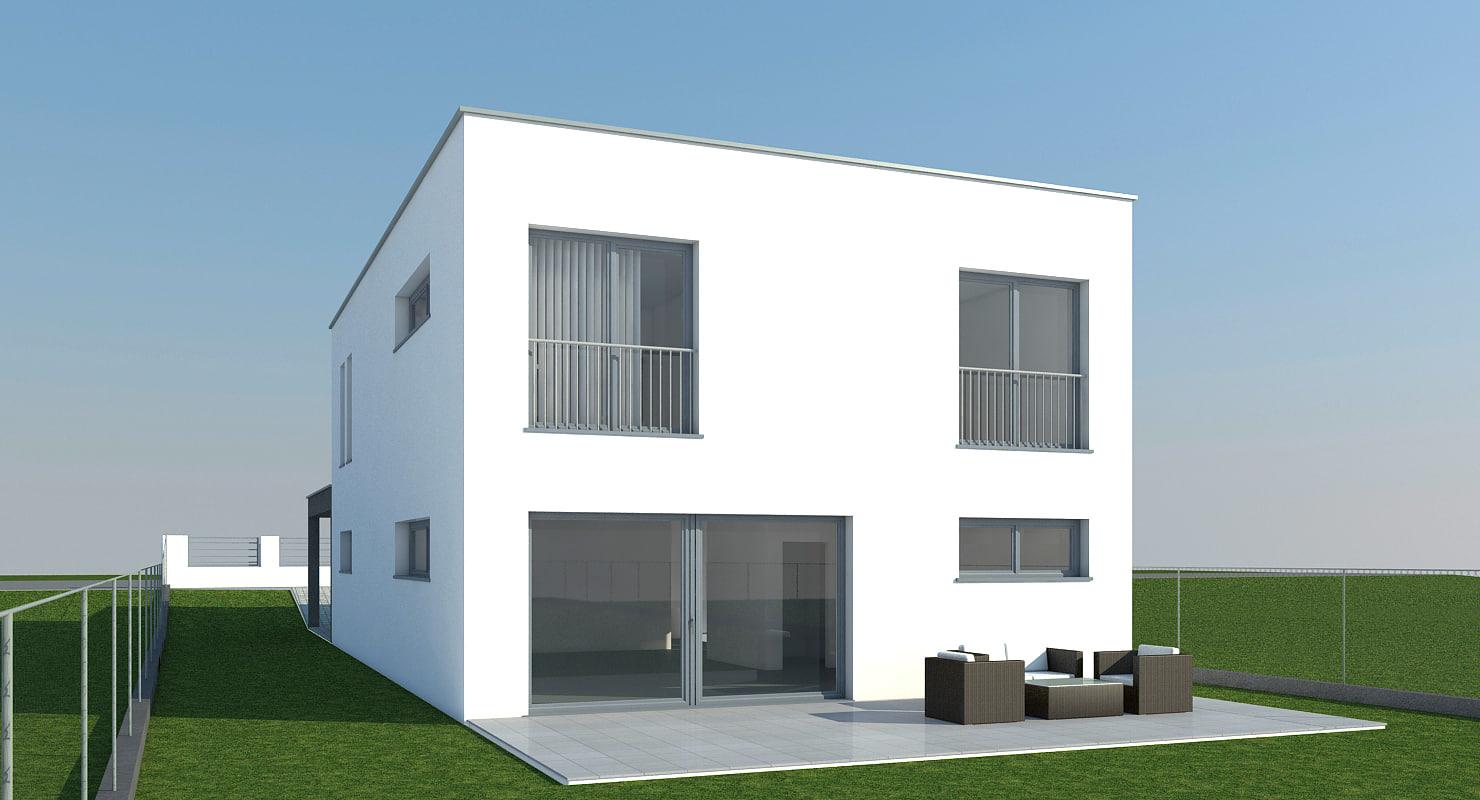 3d model house mo