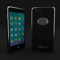 mobile phone dummy 3d model