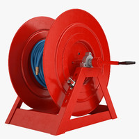 Fire Hose Reel 2 Red