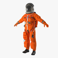 US Advanced Crew Escape Suit ACES Rigged