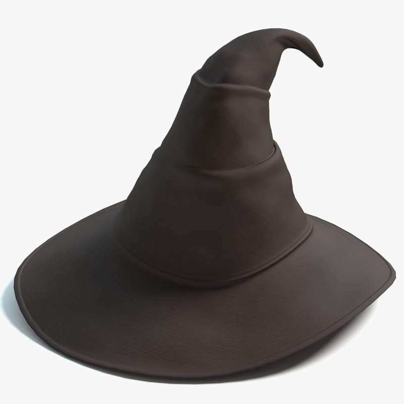 wizards hat 3ds